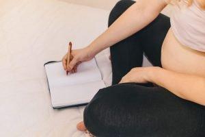 diario di gravidanza