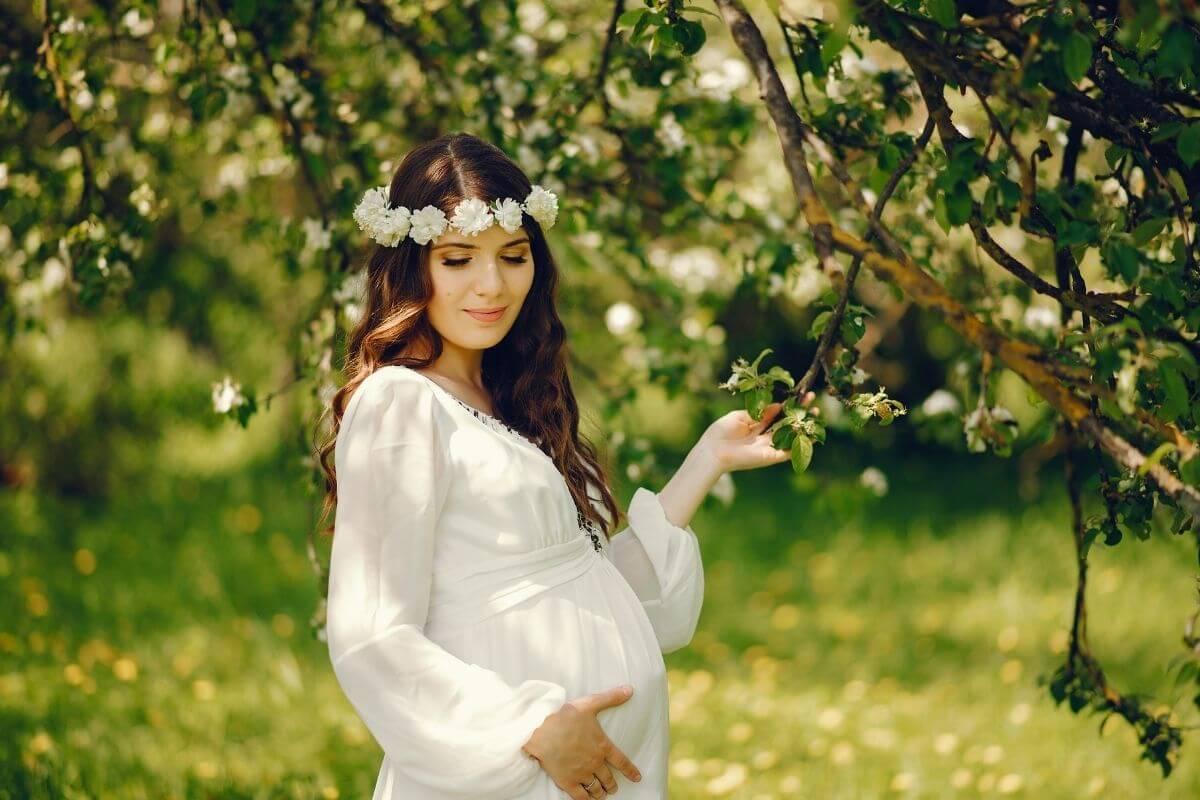 foto in gravidanza set e vestiti