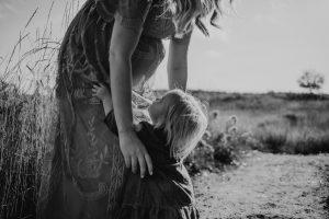 foto maternità con bambini
