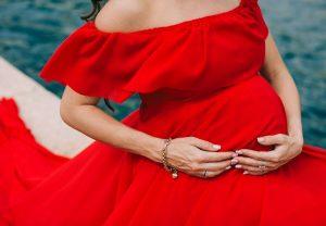 vestiti per foto gravidanza